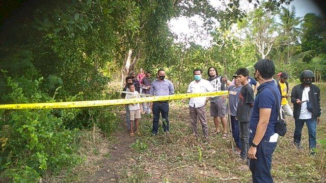 Seorang Mayat Kakek di Jeneponto Ditemukan Dalam Kebun