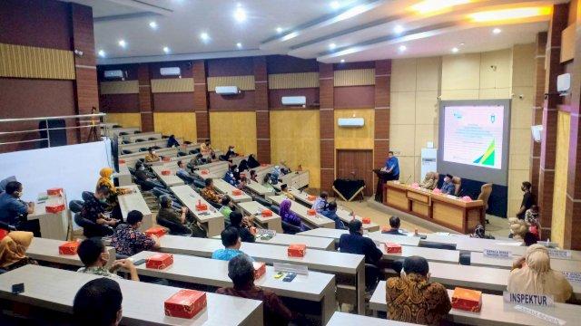 Pemkot Parepare Serahkan Santunan BPJS Ketenagakerjaan Untuk Iman Masjid