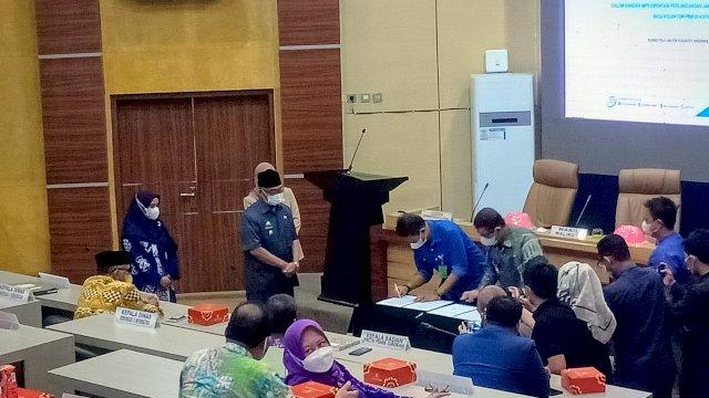 Pekerja Informal Lingkup Pemkot Parepare Didaftar Jadi Peserta BPJS Ketenagakerjaan