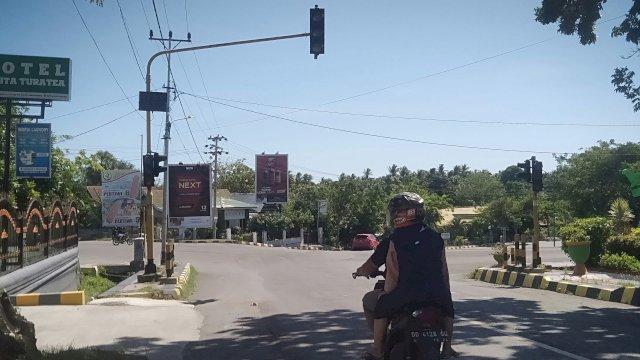 DPRD Soroti Dishub, Lampu Traffic light di Jeneponto Tak Berfungsi