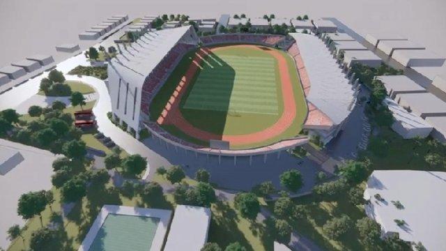 Dispora Sulsel Teken Kontrak dengan PT Artefak Arkindo Terkait Pengawasan Pembangunan Stadion Mattoanging