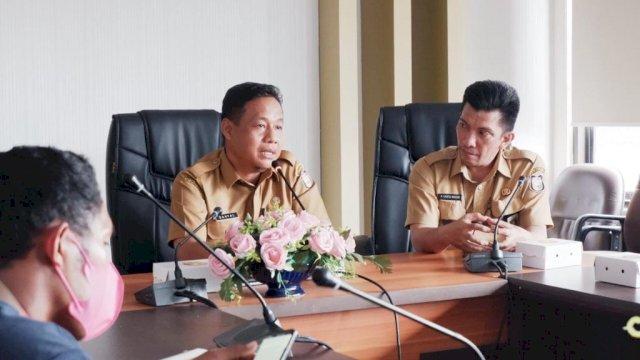 Plt Sekwan DPRD Makassar Baru Minta Jaga Kemitraan Baik Dengan Media