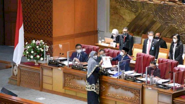 DPR RI Setujui RUU Provinsi Sulawesi Selatan