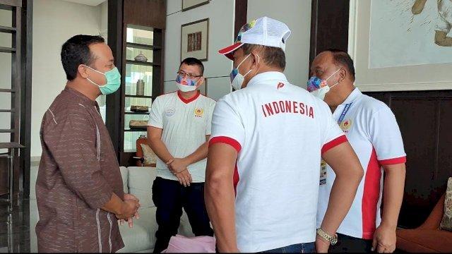 Bertemu Ketua KONI, Plt Gubernur Nyatakan Keseriusan Sulsel untuk Pencalonan Tuan Rumah PON 2028