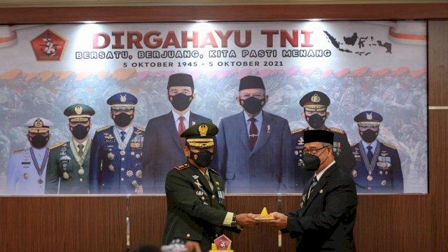 Hadiri Acara Peringatan HUT TNI ke-76, Pangerang Rahim Sampaikan Ini