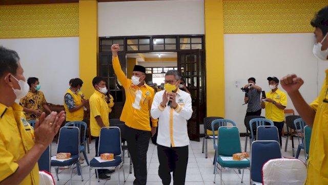 Konsolidasi di Tator, Victor Janji ke Taufan Pawe Kembalikan Kejayaan Golkar