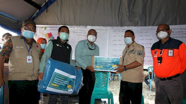 PT Vale Indonesia Serahkan Bantuan ke Korban Banjir Kabupaten Luwu