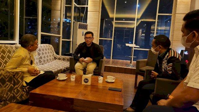 Taufan Pawe dan Ace Hasan Rancang Kesiapan Pembukaan Golkar Institute di Makassar