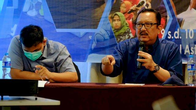 Lewat FGD, Ni'matullah Ajak Mahasiswa Unhas Tak Hanya Andalkan Demonstrasi