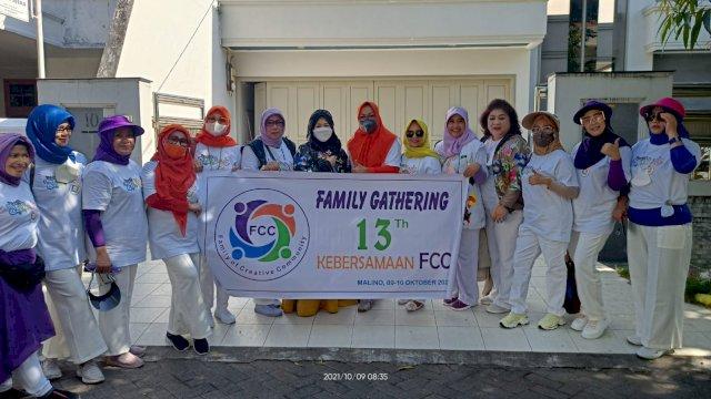 Erna Rasyid Taufan Hadiri Family Gathering FCC
