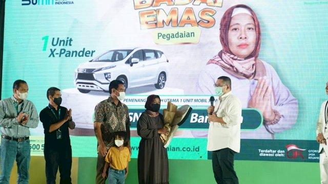 Tiga Nasabah Pegadaian Kanwil VI Makassar Raih Hadiah Utama Badai Emas