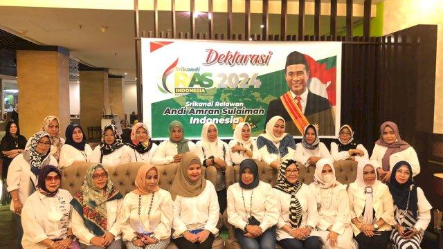 Srikandi RAS Sulsel Deklarasi Dukung Amran Sulaiman Maju Pilpres 2024