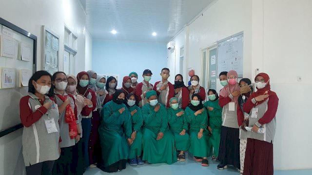 HISSI Sulsel Lakukan Tour Hospital di CSSD RSUD Parepare