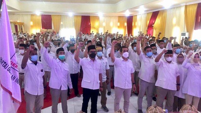 Usai Rakorda, Kamrussamad Gerak Cepat Matangkan Struktur Pemenangan Gerindra Pangkep