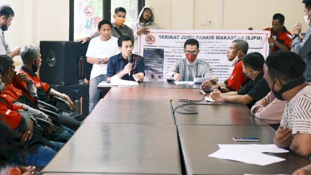 Serikat Jukir Demonstrasi ke DPRD Makassar, Tuntut PD Parkir Dibubarkan