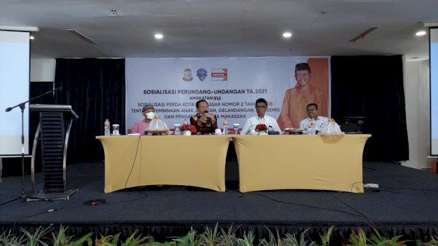 Yunus HJ Harap Pemkot Makassar Segera Buat Perwali Anjal dan Pengamen