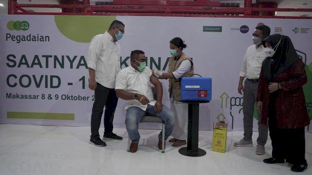Pegadaian Siapkan 2 Ribu Vaksin Bagi Warga Makassar dan Karyawan