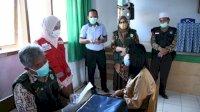 PMI Gelar Vaksinasi di SMPN 4 Masamba, Diikuti Sebanyak 108 Pelajar